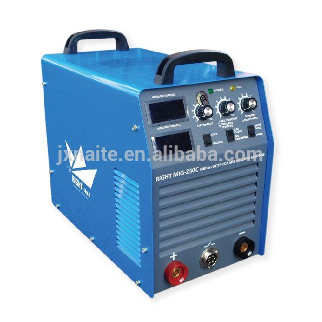 High quality 380V maquina de soldar mig 250 with Separate wire feeder