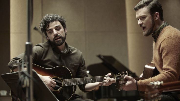 Oscar Isaac (left) and Justin Timberlake in a scene from Inside Llewyn Davis. Both are featured on the movie's soundtrack.