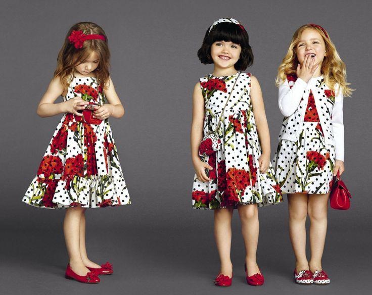 Kindermode Mädchen Retro Festliche Kleider Weiße Weste