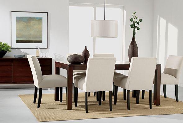 Ethan Allen Furniture Interior Design ~ Ethanallen modern serene sebago dining room