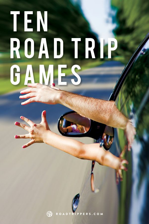 """Keep the kids from always asking """"Are we there yet?"""" with these fun road trip games!"""