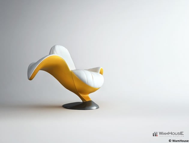 studio design WamHouse: Modern Furniture, Wamhous, Bananas Chairs, Modern Chairs, Armchairs Zjedzoni, Bananas Armchairs, Furniture Design, Products Design, Chairs Design