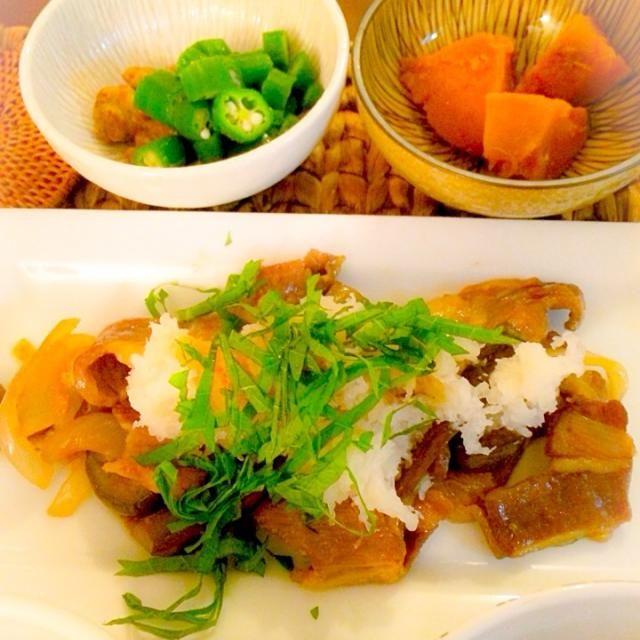 柚子こしょうがたまりません - 4件のもぐもぐ - 豚肉の柚子こしょう炒め大根おろしとポン酢ジュレ by Ayaka.B