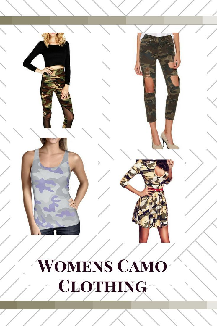 Camouflage clothing for women is surprisingly popular right now.   I recently caught on to the ladies camo clothing fashion trend and after reading this so will you.   Camouflage Clothing for Women