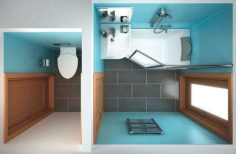 Koupelnový koncept BeHappy funguje jako hravá skládačka pro ultra malé koupelny. Vana je prostorná přesně tam, kde potřebujete. Do oblasti nohou, kde tolik místa není třeba, můžete zavěsit umyvadlo. Vana stojí od 7990 Kč, umyvadlo od 4990 Kč; Ravak