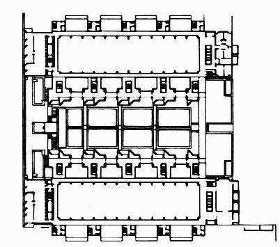 AD Classics: Salk Institute,Plan