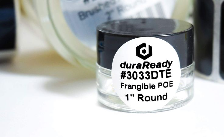 "🔐Security in a small, round package!   DuraReady's 1"" round, frangible labels are the asset tagging solution you've been looking for. These guys will fall apart if tampered with in order to ensure the quality of your products and security of your business!   Visit us today and check out our new low prices!   #duraready #label #stickers #security #photooftheday #frangible #product #business #diy #blackandwhite #design #work #shipping #packaging"
