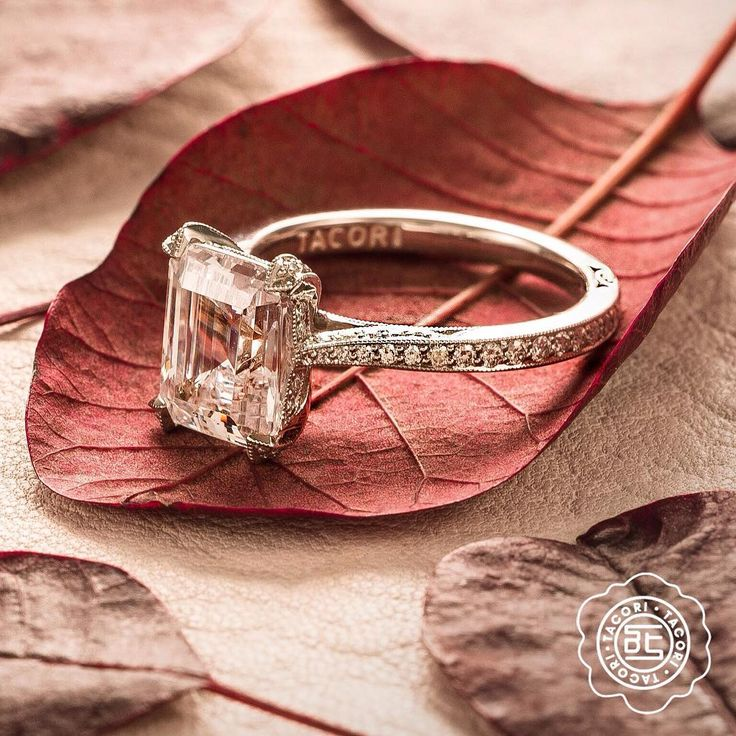 Fall in love with Tacori engagement rings.