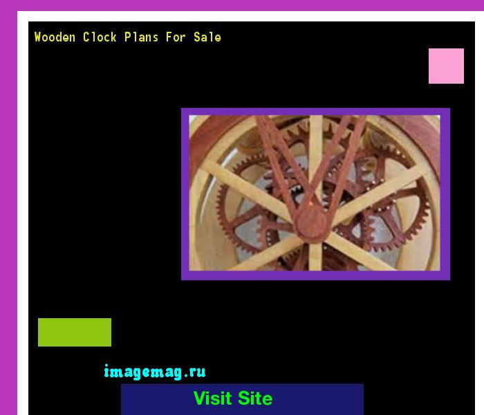 Wooden Clock Plans For Sale 141207 - The Best Image Search
