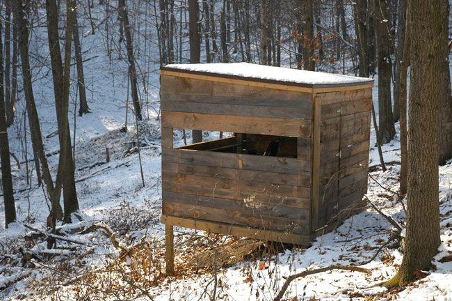 17 best ideas about deer hunting blinds on pinterest for Best deer blinds
