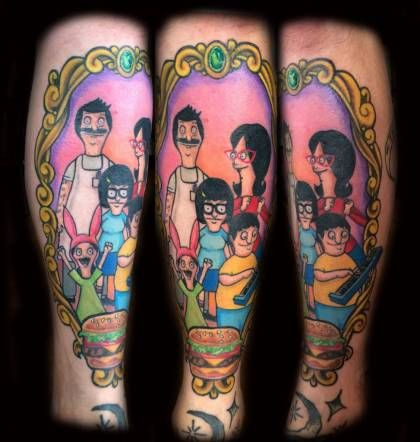 "Is your love for the Belcher family so strong that you'd love to get a tattoo of one of your favorite Bob's Burgers characters permanently inked in your skin? These are some o the best tattoos of Tina, Louise, Gene, Bob, and Linda. Before you launch into your best Tina impersonation (""Uhhhhhhh..."