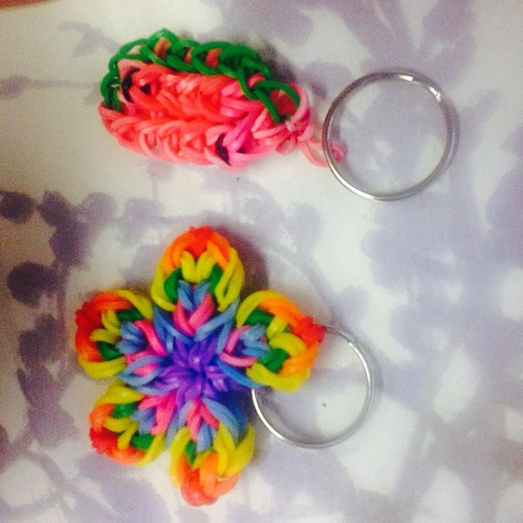 17 best images about loom charms flowers on