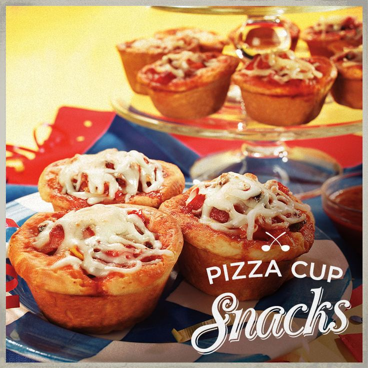 We got a little carried away with our crust creativity and made Pizza Cup Snacks! #RaguPizzaParty