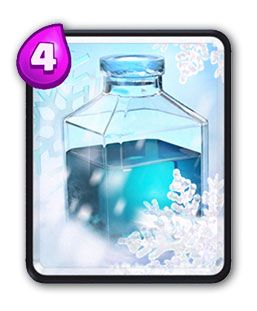 Clash Royale hielo