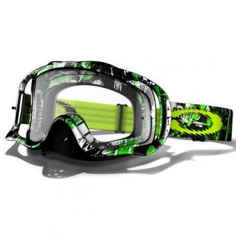 Masque Cross Oakley Crowbar MX One Icon Green http://www.icasque.com/Equipement-cross/Equipement-moto-cross/Masque-Cross/Crowbar-MX-One-Icon-Green/