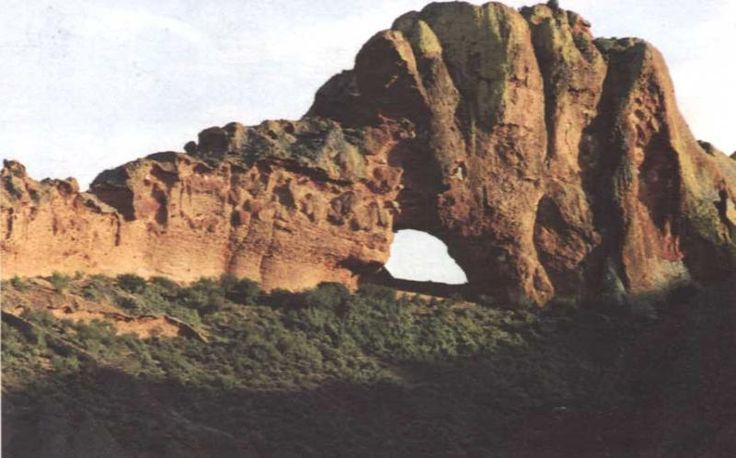 Red Stone Hills - between Calitzdorp and Oudtshoorn, Little Karoo, Western Cape, South Africa
