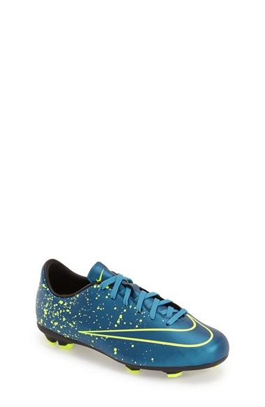 Nike 'Jr. Mercurial Victory V' Soccer Cleat (Little Kid & Big Kid)