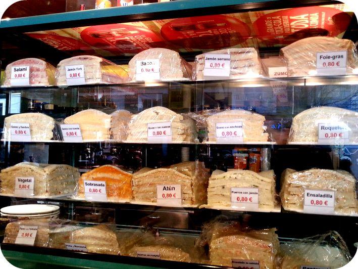 Sándwiches de Ferpal. Arenal, 7