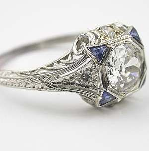 vintage jewelry | Estate and Antique Jewelry, Vintage Rings | Topazery