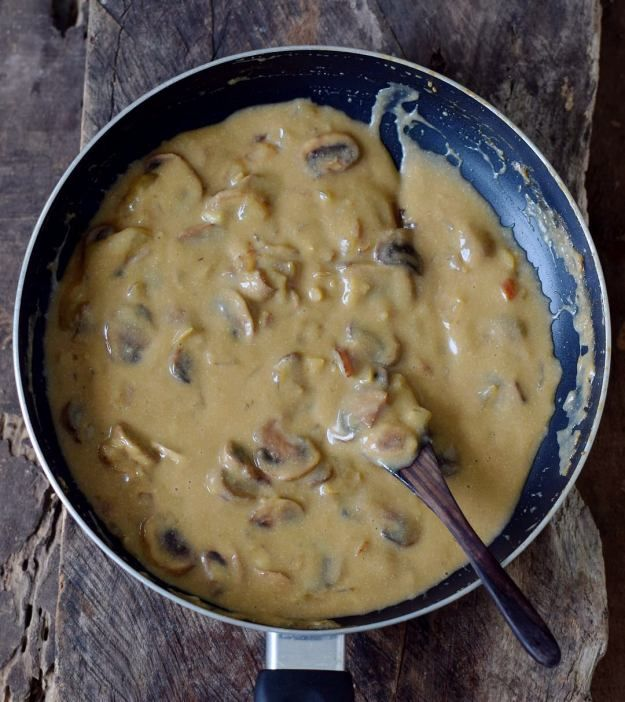Vegan Mushroom Stroganoff Easy Less Gluten Recipe With Images