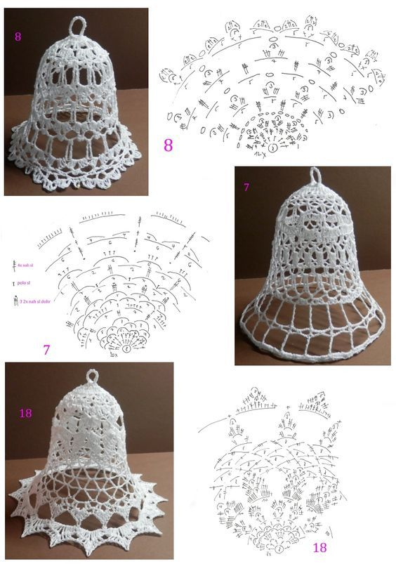 Crochet 3 campañas instrucciones 15: