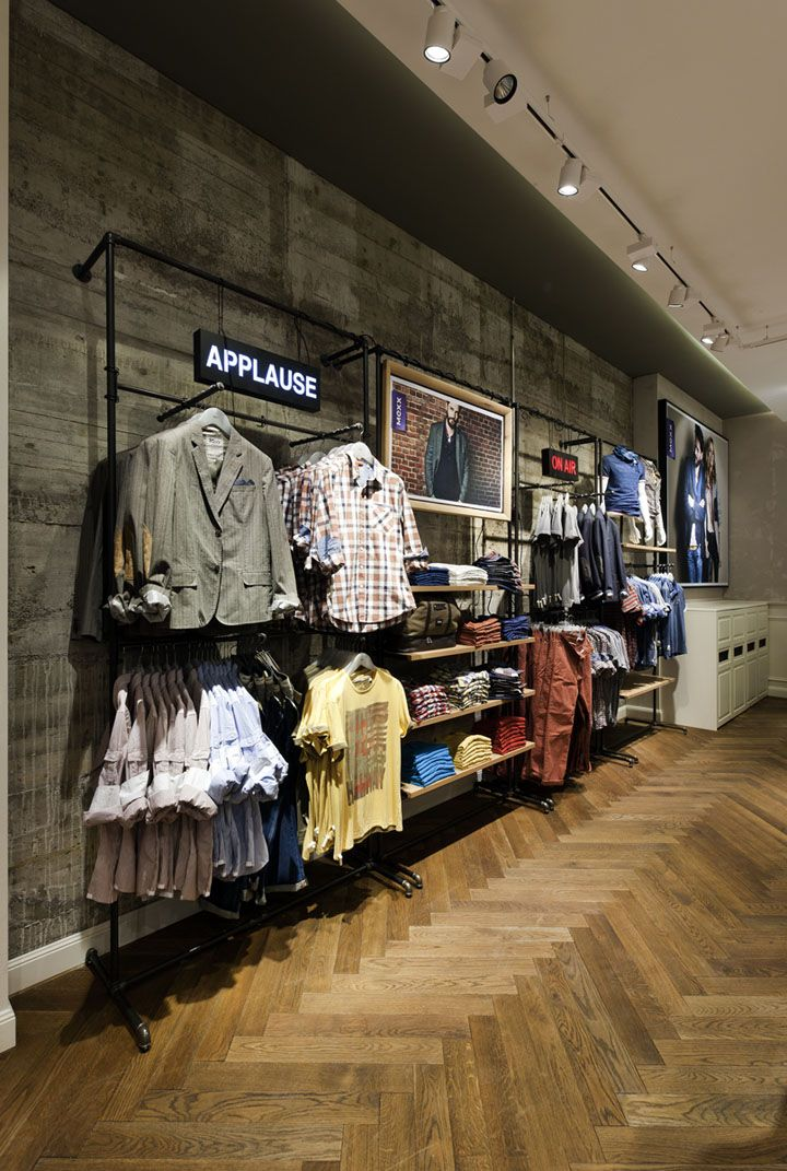 Mexx Store Stuttgart Retail Design Blog Shop Interior Merchandising Displays Store Interior