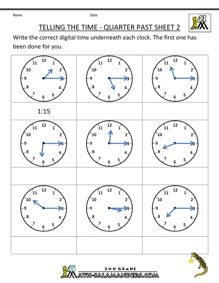 math worksheets for 2nd grade 2nd grade math worksheets telling the time quarter past 2 math. Black Bedroom Furniture Sets. Home Design Ideas