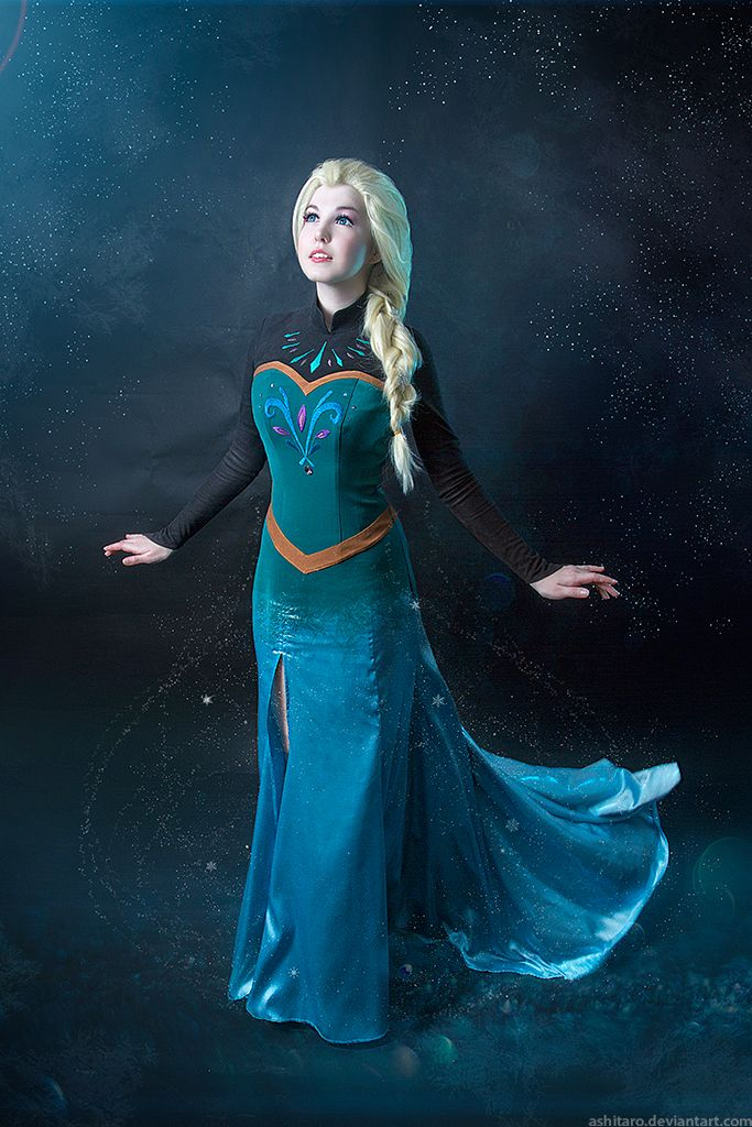Frozen Elsa cosplay by KikoLondon.deviantart.com