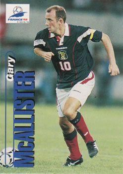 1998 Panini World Cup #61 Gary McAllister  Front