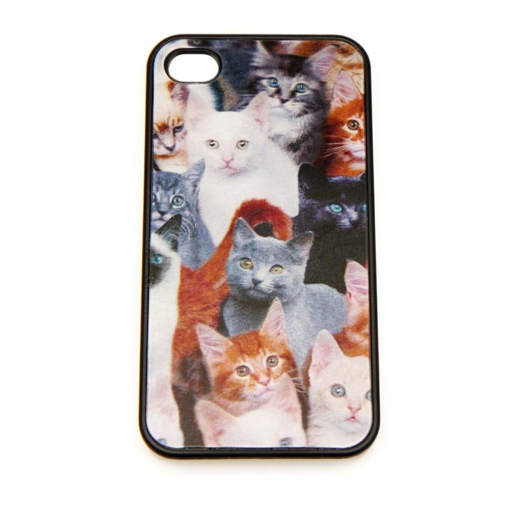 Can there be too many cats? NO! Cute kittens for your iPhone! <3