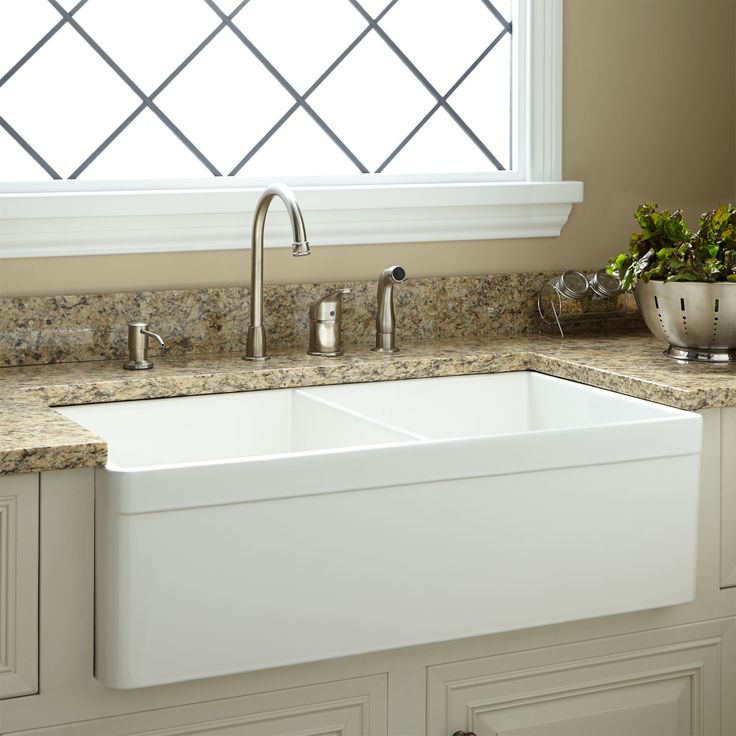 Amazing Best 25+ Fireclay Farmhouse Sink Ideas On Pinterest | Fireclay Sink, Farmhouse  Sinks And Apron Sink