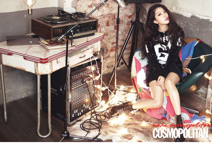 BoA - Cosmopolitan Magazine September Issue '14