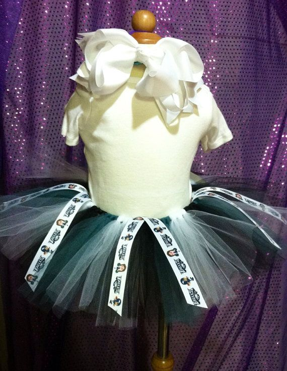 NFL Philadelphia Eagles tutu with cheerleader by IsabeauGrace, $17.00