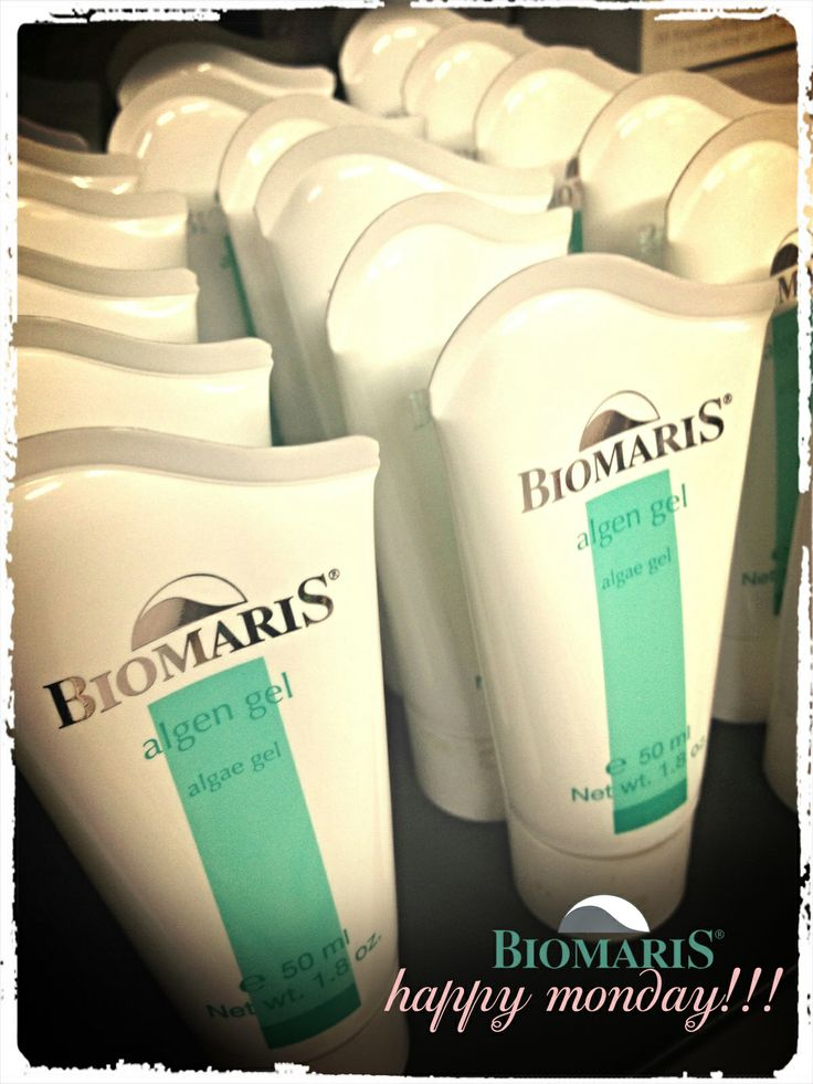 happy monday!!!  #algengel #biomaris #cosmetics