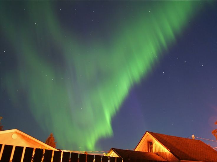 Northern Lights - In Real Time!---To be used with weeks 7 & 8