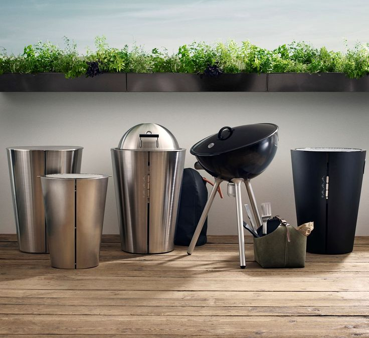 Can a grill be both functional and have a great design? Eva Solo combines functionality and design in both gas grill, charcoal grill and grill tools. http://www.evasolo.com/Grill-2017/