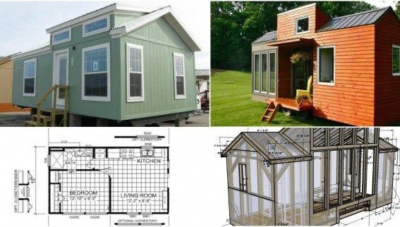 17 Do It Yourself Tiny Houses With Free Or Low Cost Plans Tiny House Builders Building Design Building A Shed
