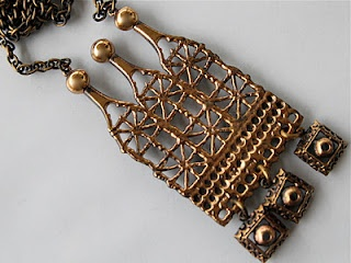 Pentti Sarpaneva ~Vintage bronze pendant / Finnish Design