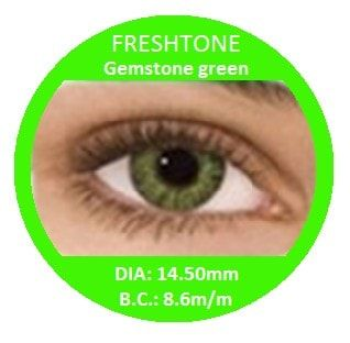 Gemstone Green Colored Contacts - Buy Best Quality Non Prescription Colored Contact Lenses - 6