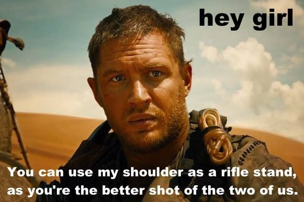 There's Already A 'Feminist Mad Max' Meme. Oh, What A Lovely Day.