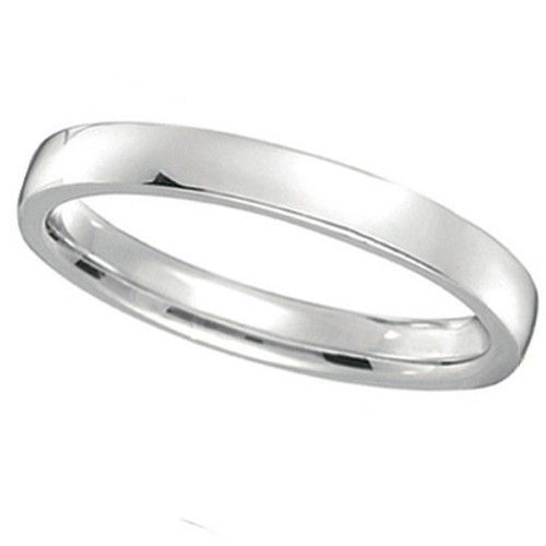 Palladium Wedding Ring Low Dome Comfort Fit 2mm Men S