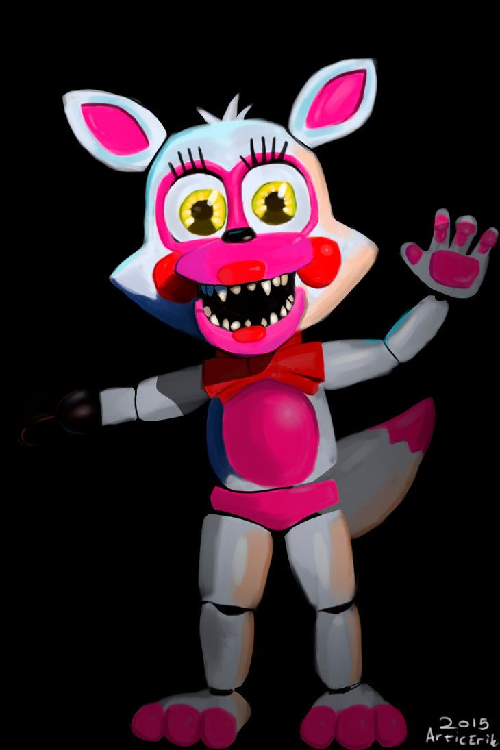 Toy chica x fem mangle preview undertale plans by red - Fnaf World Mangle Recherche Google That Is Funtime Foxy Excuse You