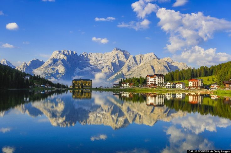 the dolomites - Stop Everything And Get To The Italian Dolomites (Source: Huffington Post)