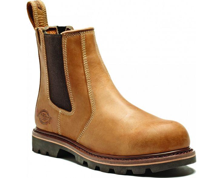 Dickies Fife Dealer Boot (Sizes 5.5-12) -  Tan