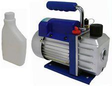Nama : Vacuum Pump Air Conditioner 3/4 Hp Value Kode : 71000000105 Nama : Vacuum Pump Air Conditioner Merk : Value Tipe : 3/4 Hp Status : Siap Berat Kirim : 15 kg  Vacuum pump berfungsi  untuk mengosongkan refrigeran dengan menghilangkan gas-gas yang tidak terkondensasi seperti udara dan uap air dari sistem. Hal ini dilakukan agar tidak mengganggu kerja mesin refrigerasi.