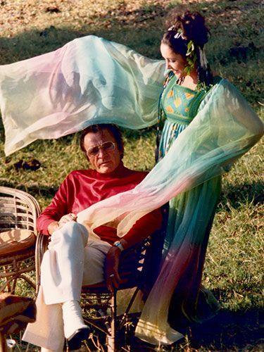 Elizabeth Taylor & Richard Burton - 2nd wedding