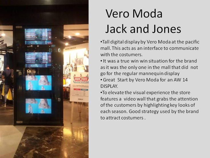 Digital display by Vero Moda .... VERY HI- TECH