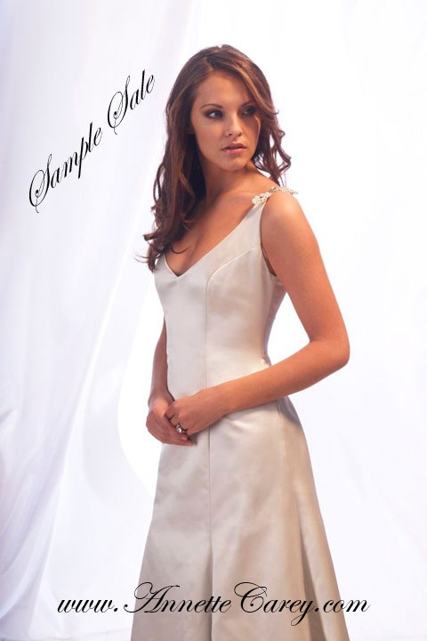 To make for you £1,995.   Sample sale dress - ONLY ONE - tried on a few times - size 10 - 12 - as seen £250