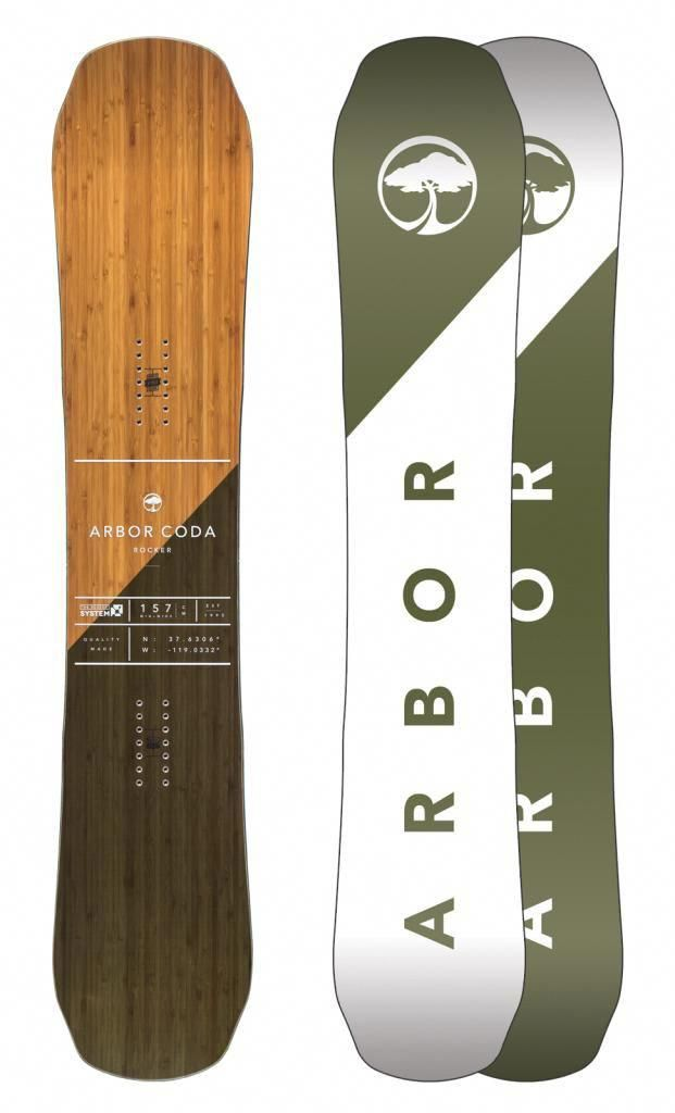d7ee1774a7d Arbor Coda Rocker Snowboard 2017  Snowboard