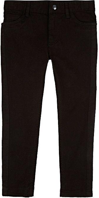 Billy Bandit Tuxedo-Striped Twill Pants